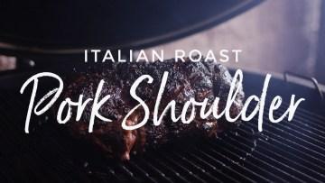 Italian Roast Pork Shoulder Recipe