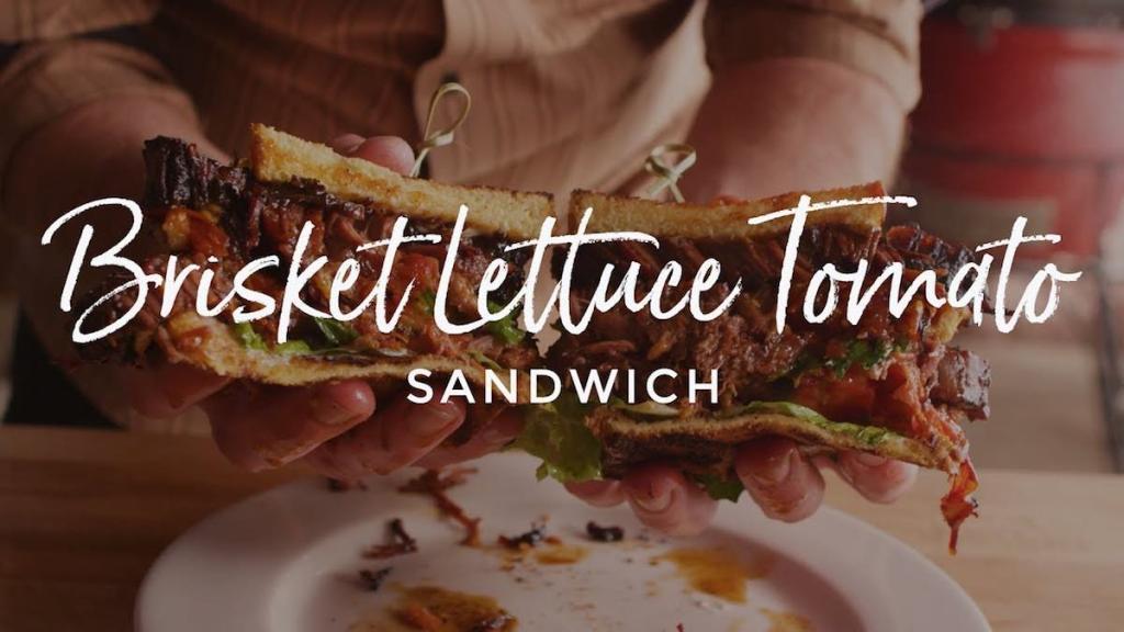Brisket Lettuce Tomato Sandwich Recipe, Kamado Joe Classic II