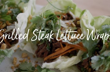 Grilled Steak Lettuce Wraps Recipe