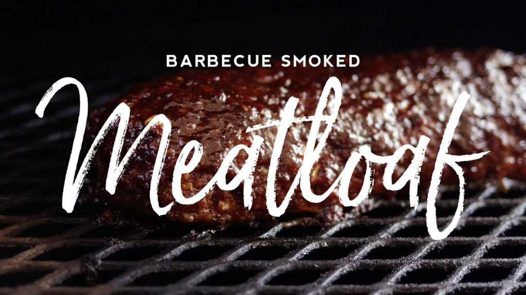Barbecue Smoked Meatloaf Recipe