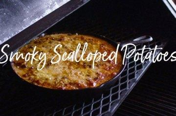 smokey scalloped potatoes recipe