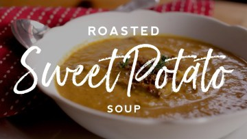 Roasted Sweet Potato Soup Recipe