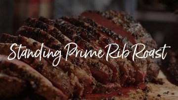 Standing Prime Rib Roast Recipe