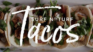 Surf 'n Turf Tacos Recipe