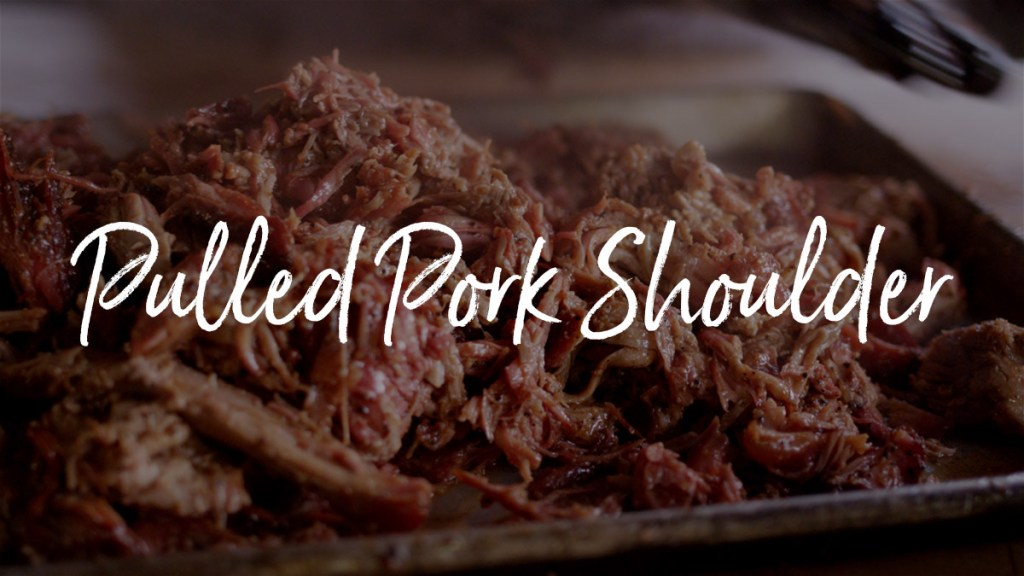 BBQ Boston Butt Pulled Pork Shoulder Recipe