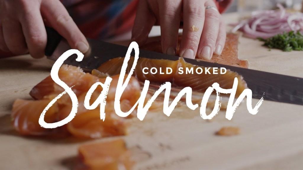 Cold Smoked Salmon Recipe