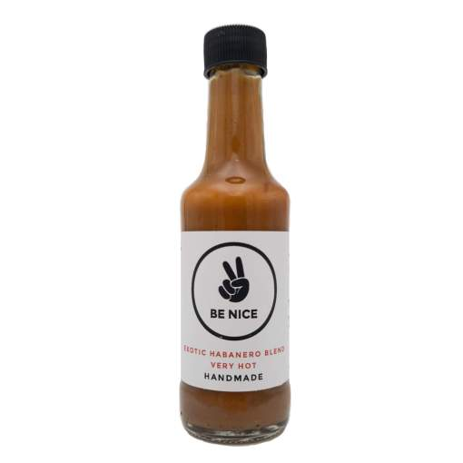 Be Nice Exotic Habanero Blend Very Hot