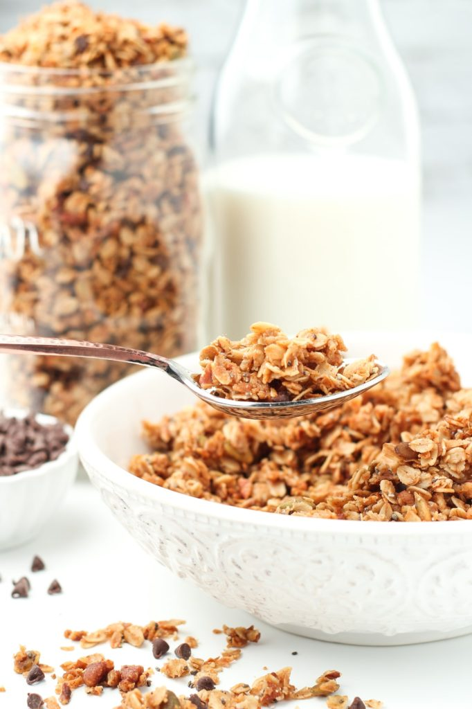Maple Pecan Coconut Granola