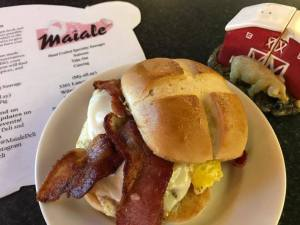 Breakfast from Maiale in Wilmington Delaware