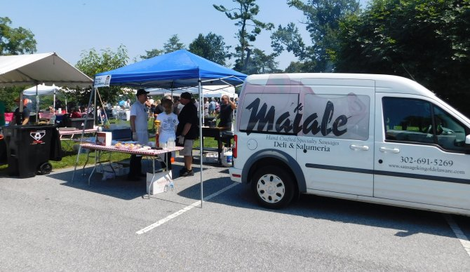 Maiale Deli at the Burger Battle 2017