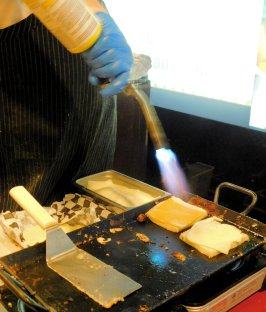 Grilled Cheese with Blow Torch
