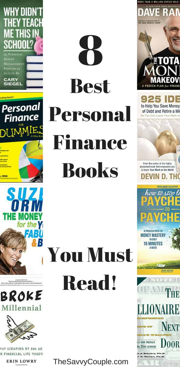 The top 8 personal finance books you need to read to become a money mastermind.