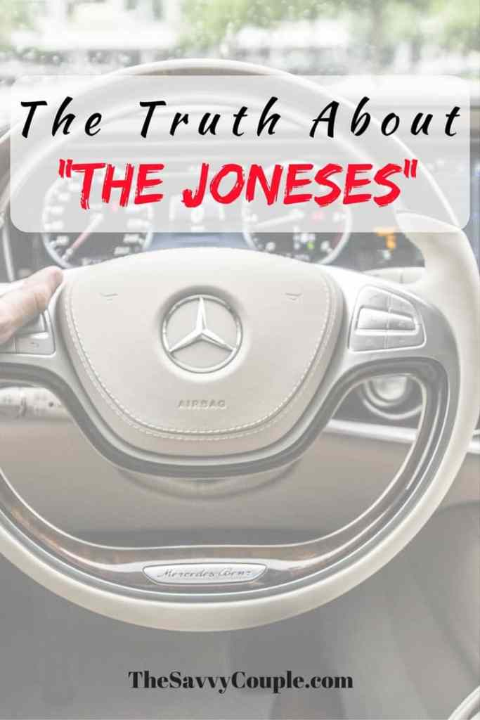 Save money, financial freedom, money tips. Keeping up with the joneses will prevent you from achieving your financial goals. Understand the truth behind the lies behind social media.