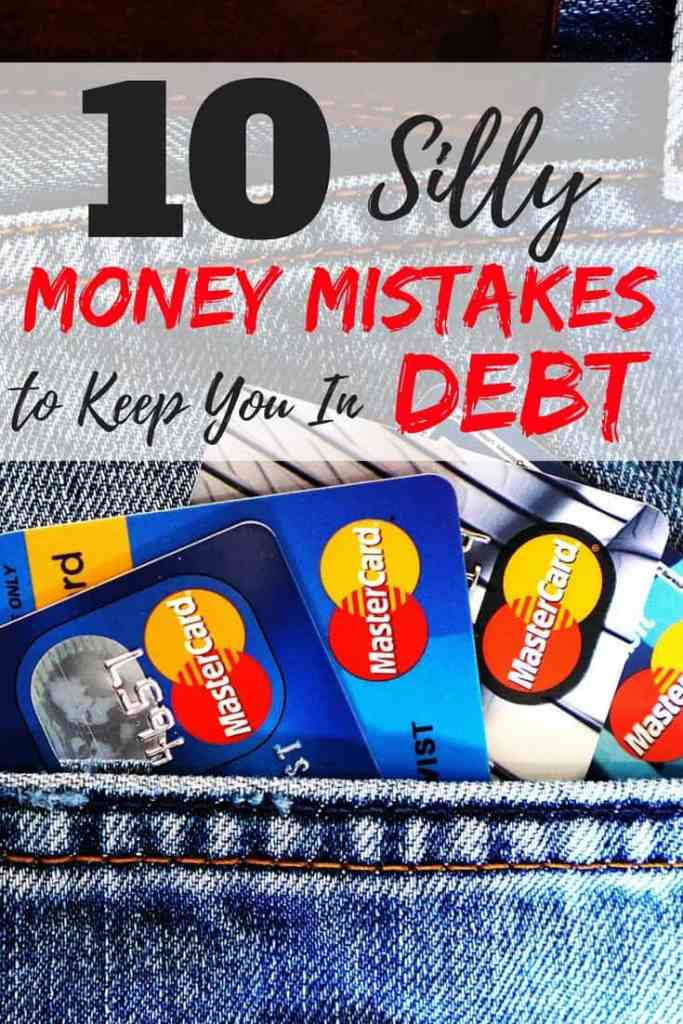 These money mistakes will surely keep your burred in debt up to your neck. Learn what these money mistakes are and how to avoid them to stay as far away from debt as possible. This article will show you how to get out of debt.