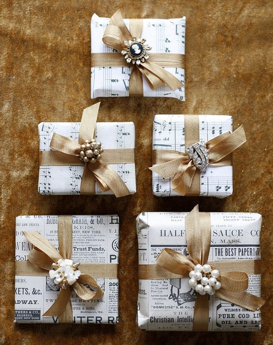 25 gift wrapping ideas