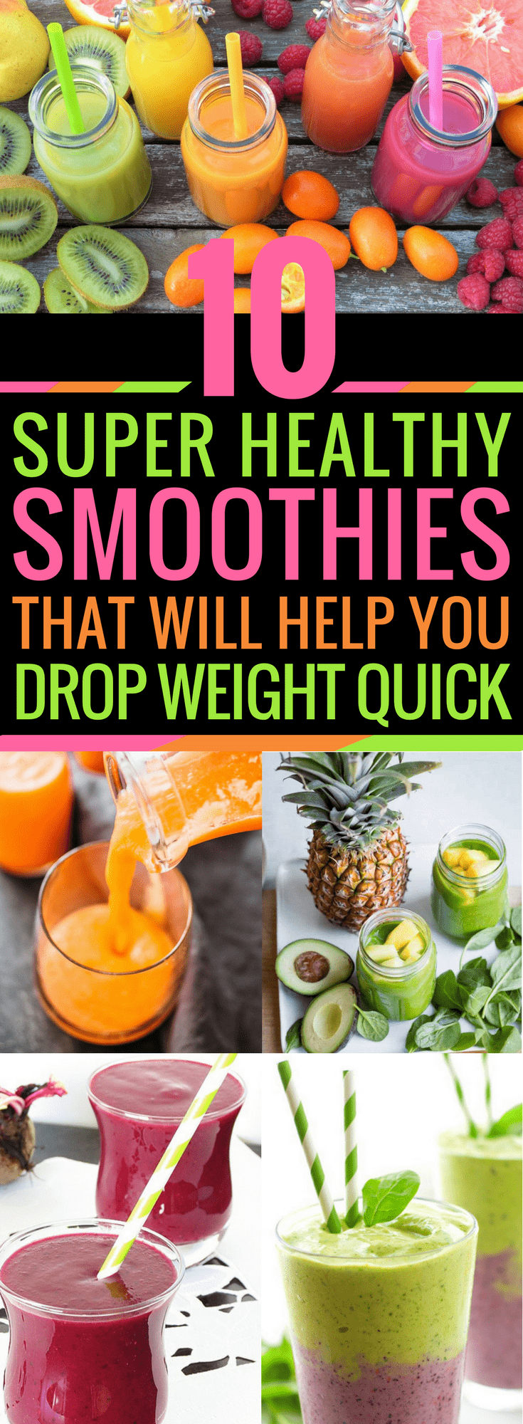 10 Weight Loss Smoothies To Make You Slim Down In A Flash