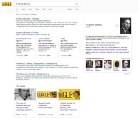 google-banting-results