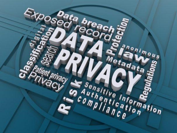 Digital Data Privacy word scramble