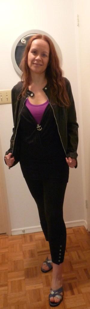 Kasia M in Express Jacket