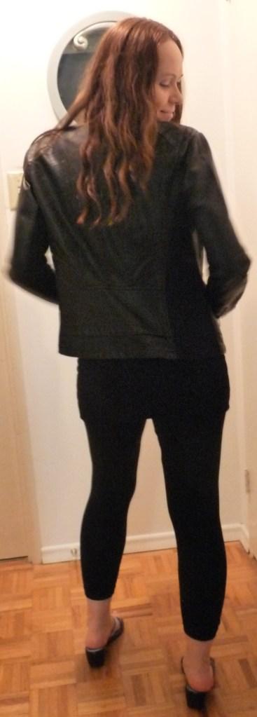 Kasia M in Express Jacket back