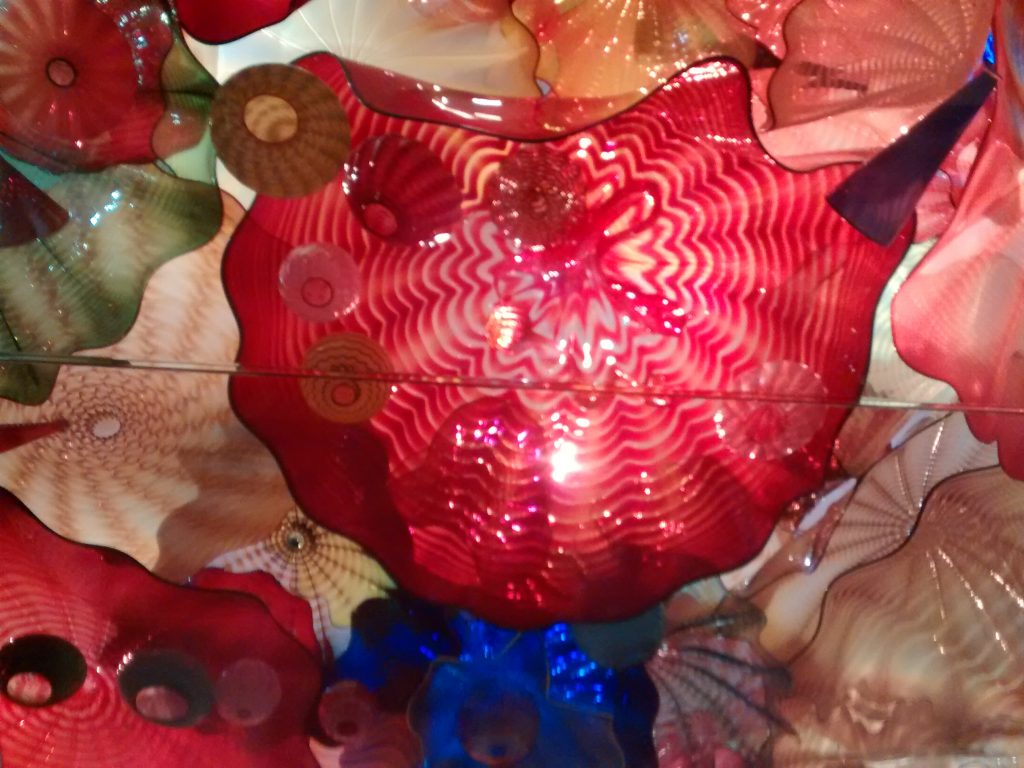 Chihuly persian ceiling close up