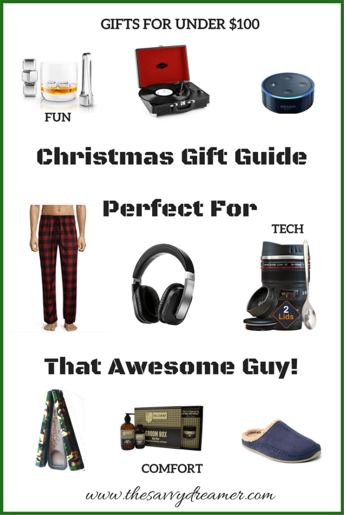 christmas gift guide perfect for any guy