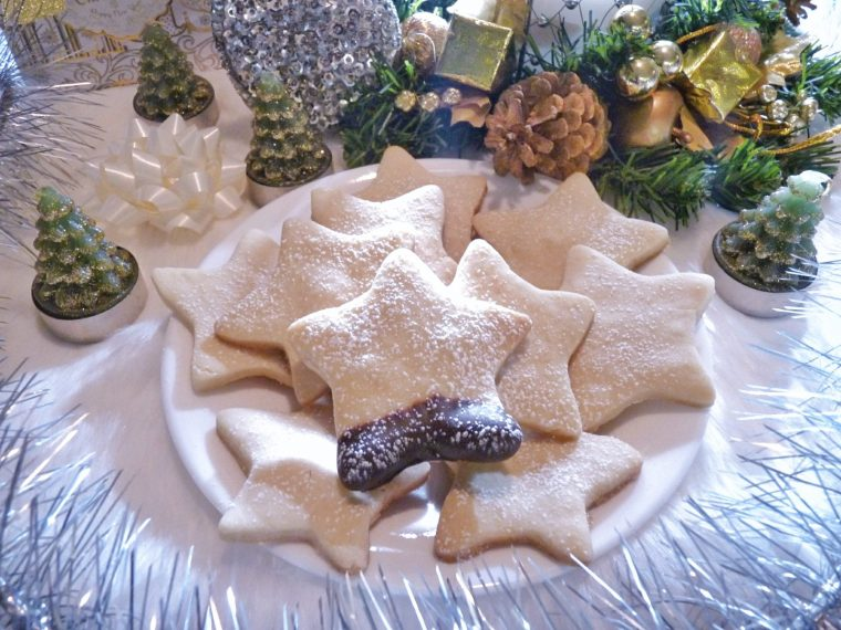 How To Make Festive Holiday Shortbread Cookies