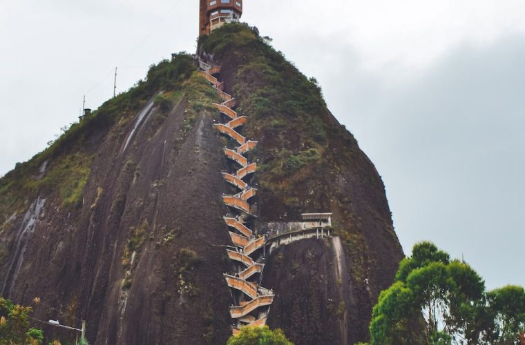El Peñol is one of the unique places to see in Colombia #Colombia #SouthAmerica #El Peñol #travel