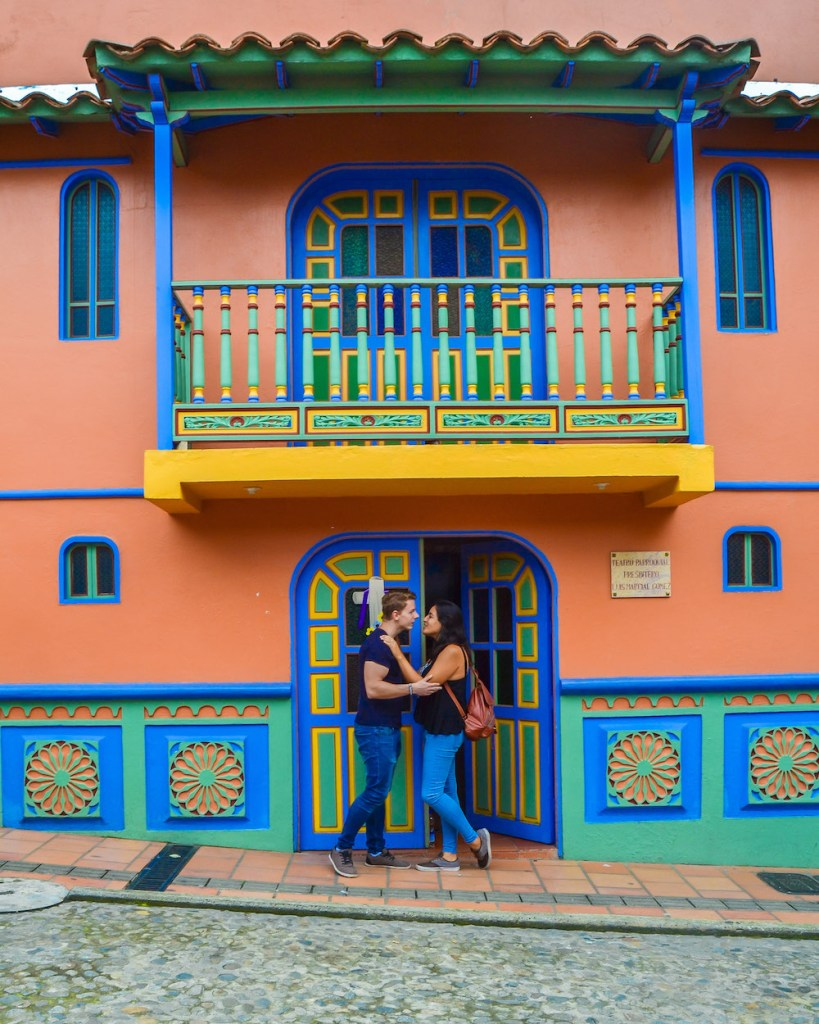Guatapé is one of the unique places to see in Colombia #Colombia #SouthAmerica #Guatapé #travel