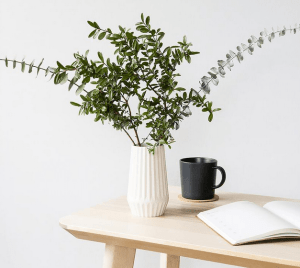 Bamboo Fibre Origami vase on Etsy