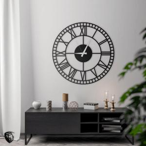 Roman Numerals wall clock on Etsy