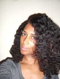 A Twist on the Braid Out   The Savvy Housewife