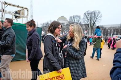 Women's March on Washington on January 21, 2017 in Washington, DC