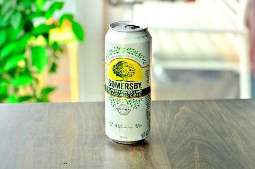 Elderflower Lime Cider