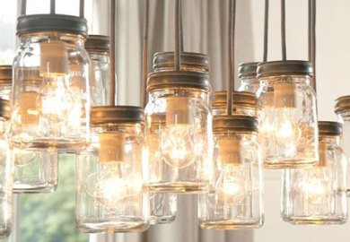 Mason Jar Lights Mason Jar Light Fixture Pendant Light