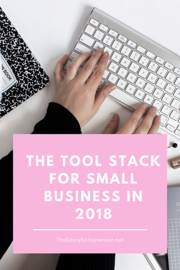 The Tool Stack for Small Business in 2018