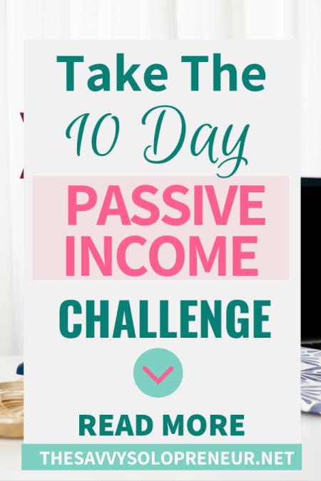 Passive Income Challenge
