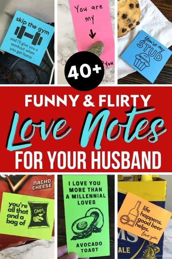 Funny Notes To Leave Your Husband : funny, notes, leave, husband, Funny, Flirty, Notes, Leave, Husband