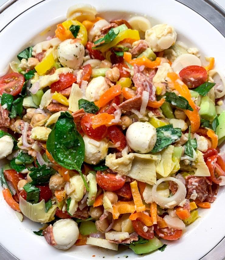 Italian Chopped Salad by The Savvy Spoon