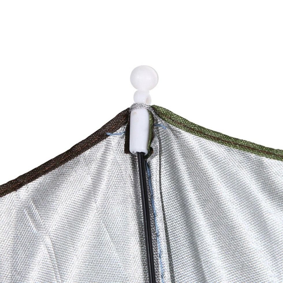 Unisex Outdoor Fishing Umbrella Cap