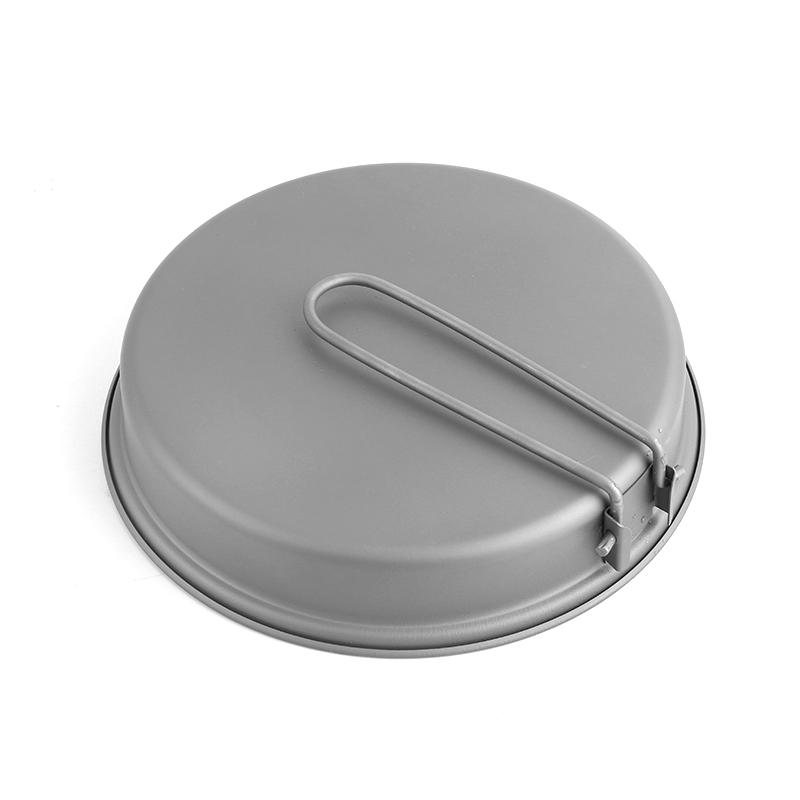 Ultralight Titanium Camping Frying Pan