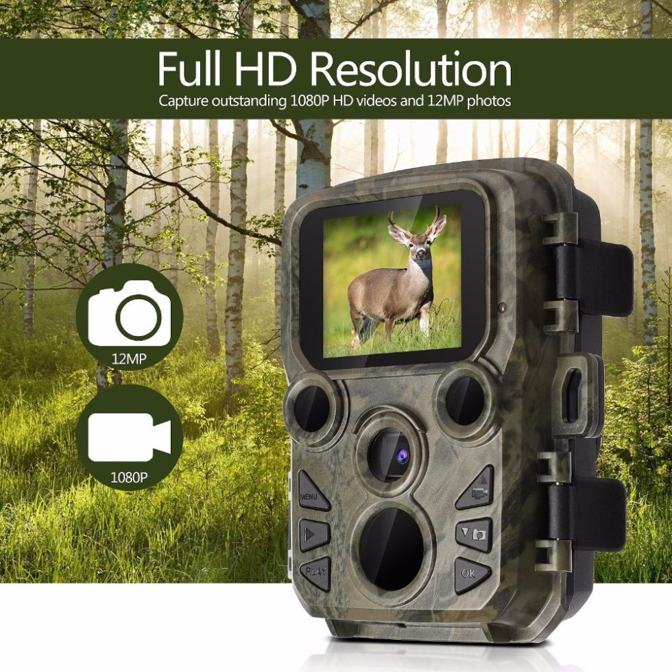 Army Green Hunting Trail Camera