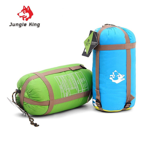 Jungle King Windproof Warm Sleeping Bag Camping Hiking Waterproof Nylon Outdoor Drawstring Hood Comfortable Sleeping Bag 1.jpg 640x640 1
