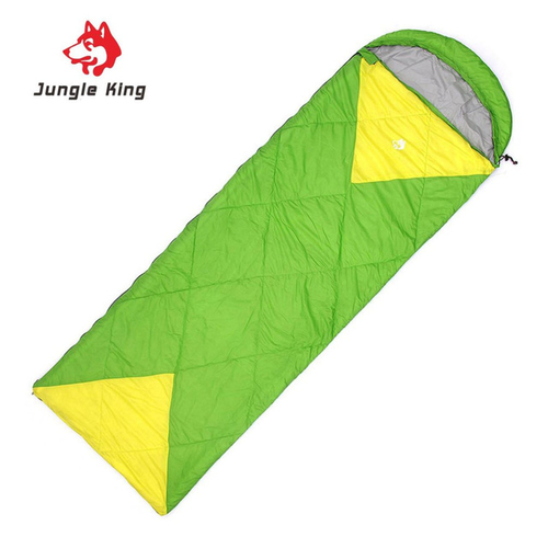 Jungle King Windproof Warm Sleeping Bag Camping Hiking Waterproof Nylon Outdoor Drawstring Hood Comfortable Sleeping Bag 4.jpg 640x640 4
