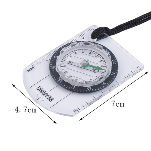 Mini Baseplate Compass Map Scale Ruler Outdoor Camping Hiking Cycling Scouts Military Compass free shipping 4.jpg 640x640 4