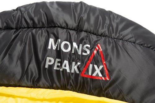 mons peak ix settler 15f sleeping bag head
