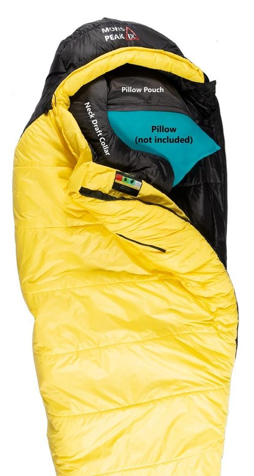 mons peak ix settler 15f sleeping bag l zipper 2