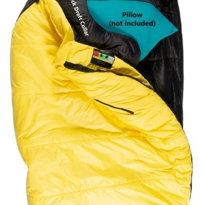 mons peak ix settler 15f sleeping bag l zipper 2