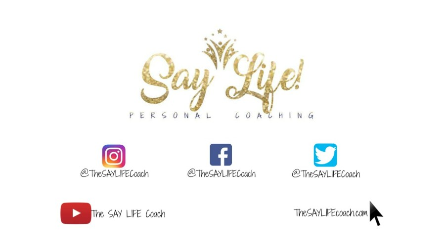 Say Life Personal Coaching Logo