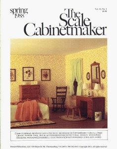 The Scale Cabinetmaker 12:1
